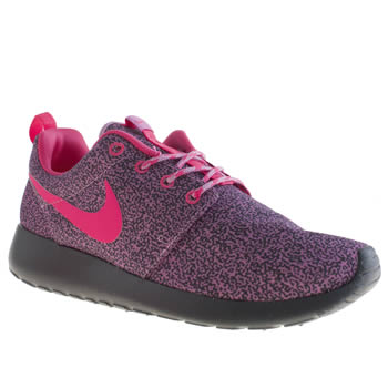 womens nike pale pink roshe run trainers