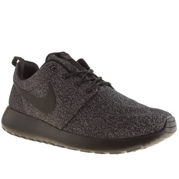 Womens Nike Black Roshe Run Trainers