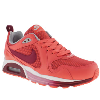 Womens Nike Pink Air Max Traxx Trainers