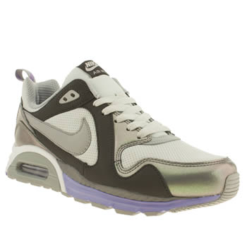 Nike Grey Air Max Traxx Trainers