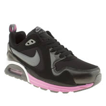 Black & pink Nike Air Max Traxx