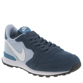 Womens Nike Navy & Pl Blue Internationalist Trainers