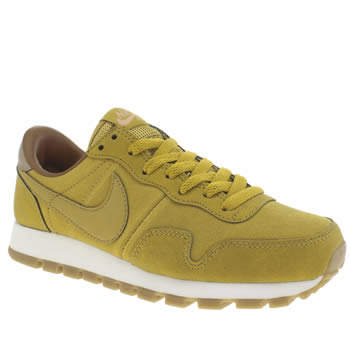Nike Yellow Pegasus 83 Trainers