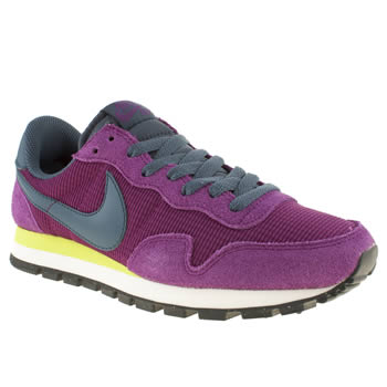 womens nike purple pegasus 83 ii trainers