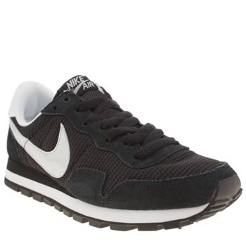 Womens Nike Black & Grey Pegasus 83 Trainers