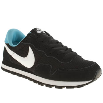 Womens Nike Black & White Pegasus 83 Trainers
