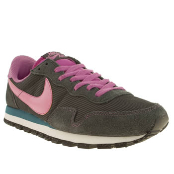 womens nike dark grey pegasus 83 trainers