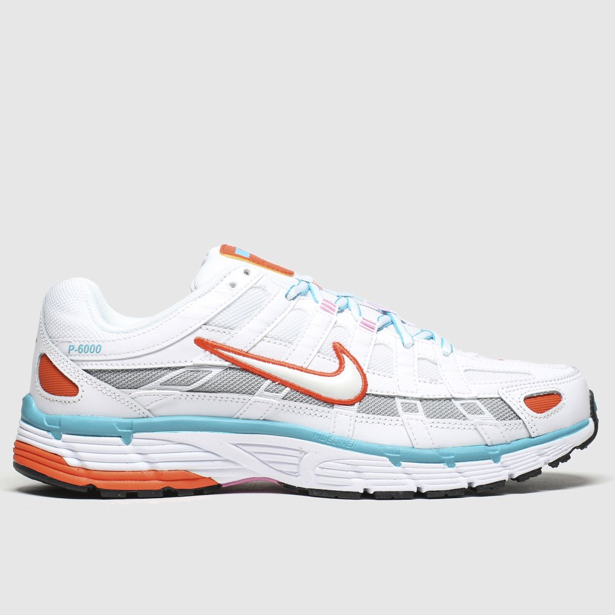 Nike Nike White & Pl Blue P-6000 Trainers