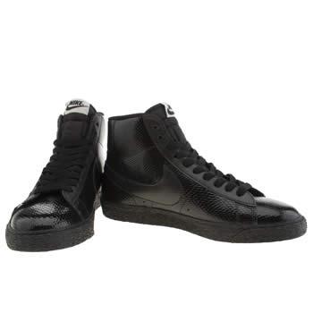 nike leather blazer
