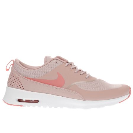 womens pale pink nike air max thea trainers schuh. Black Bedroom Furniture Sets. Home Design Ideas
