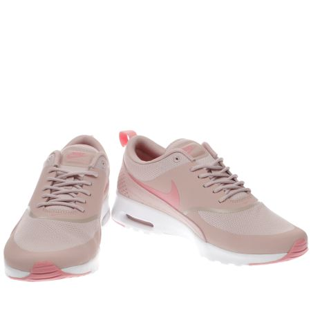 nike air max thea pink trainers extreme. Black Bedroom Furniture Sets. Home Design Ideas
