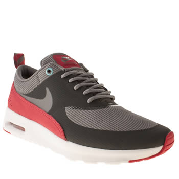 Womens Nike Grey Air Max Thea Trainers