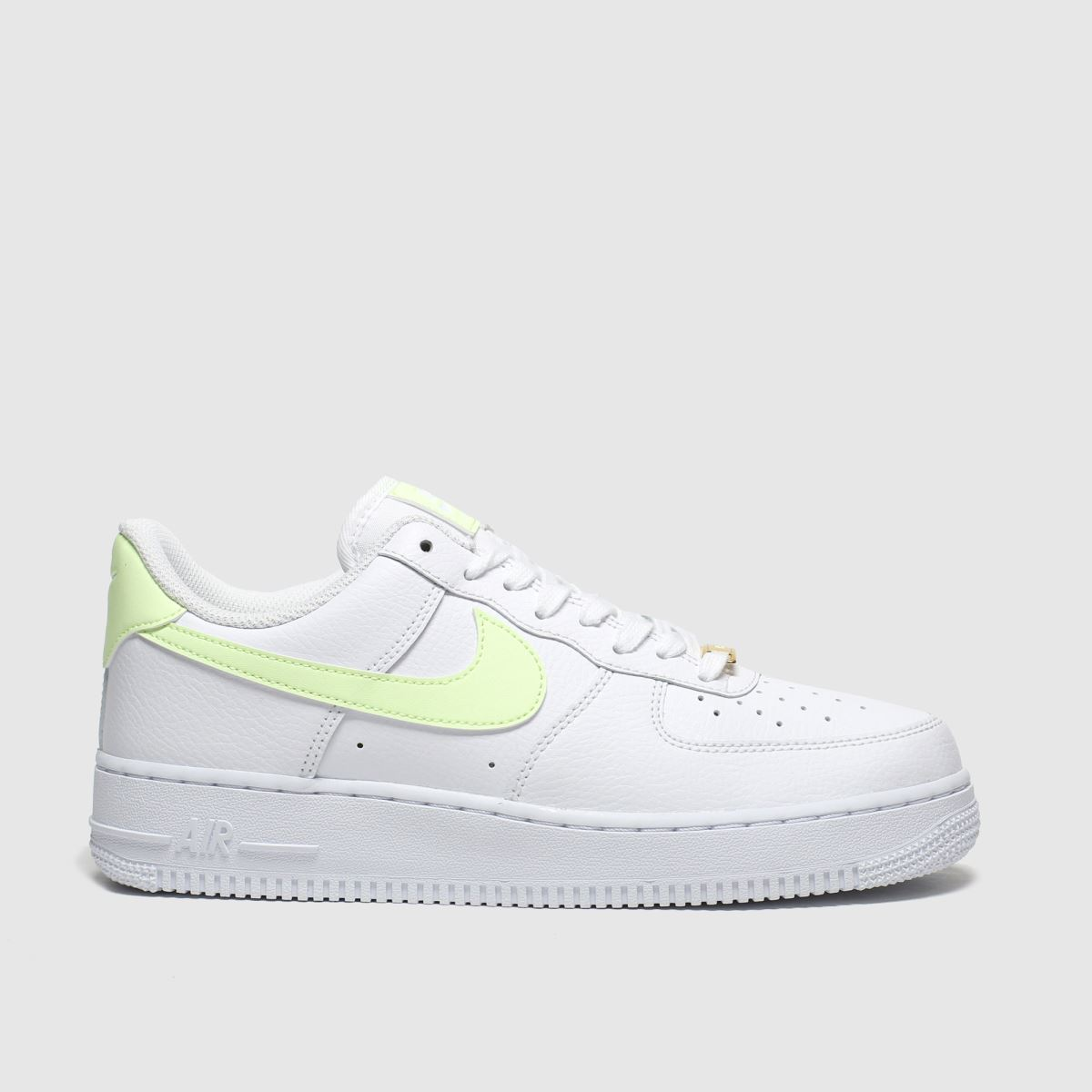 Nike Nike White & Yellow Air Force 1 07 Trainers