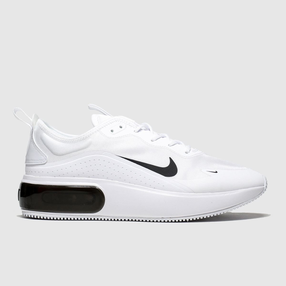 Nike Nike White & Black Air Max Dia Trainers