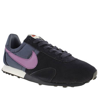 Womens Nike Black and blue Pre Montreal Trainers
