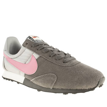 Nike Grey Pre Montreal Trainers