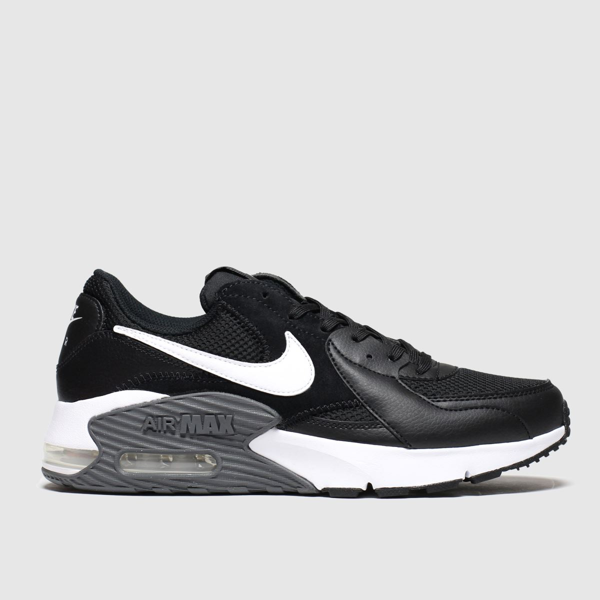 Nike Nike Black & White Air Max Excee Trainers