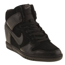 Black Nike Dunk Sky Hi