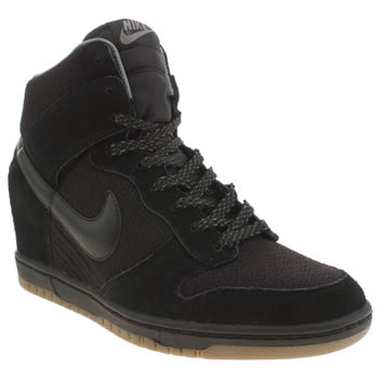 Nike Black Dunk Sky Hi Trainers