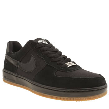 Nike Black Air Force 1 Ultra Force Low Trainers