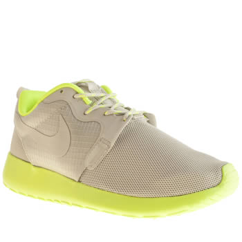 Womens Nike Light Grey Roshe Run Hype Trainers