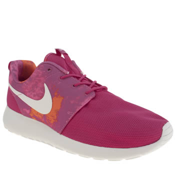 Womens Nike Pink Roshe Run Trainers
