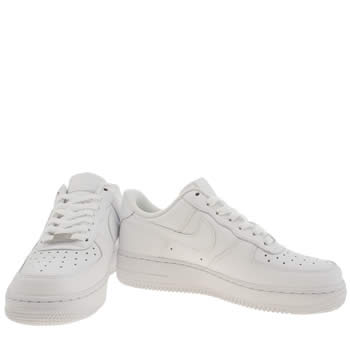 Nike Air Force 1 Womens Black And White