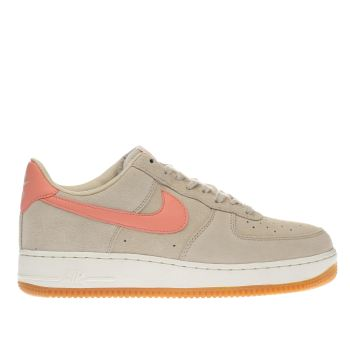 Nike Natural Air Force 1 Low Womens Trainers
