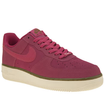 Nike Pink Air Force 1 Low Womens Trainers