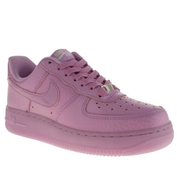 Womens Nike Purple Air Force 1 Low Trainers