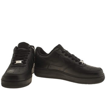 Air Force 1 Black Low Top