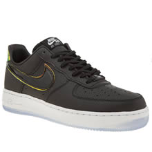 Nike Black & White Air Force 1 Low Premium Womens Trainers
