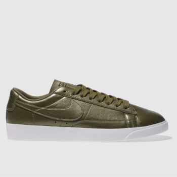 Nike Bronze Blazer Low Metallic Womens Trainers