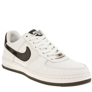 Womens Nike White & Black Air Force 1 Ultra Force Trainers