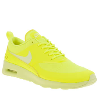 Nike Yellow Air Max Thea Trainers