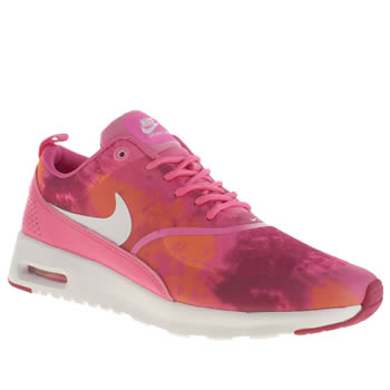 Womens Nike Pink Air Max Thea Trainers