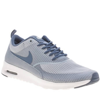 Womens Nike Pale Blue Air Max Thea Trainers