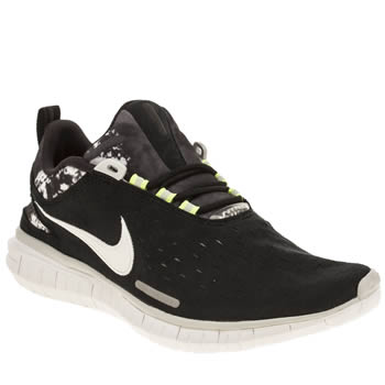 Nike Black & White Free Og 14 Trainers