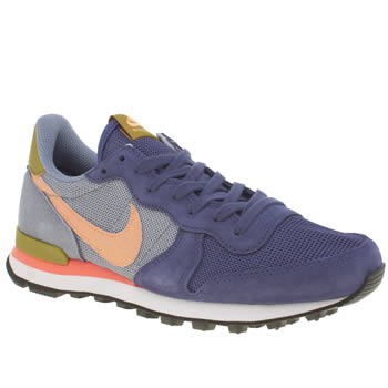 Nike Navy & Grey Internationalist Trainers