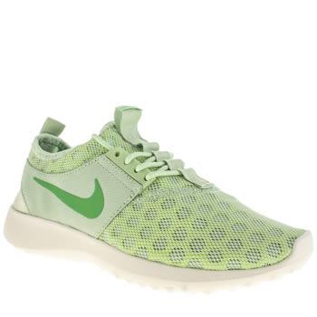 nike green trainers