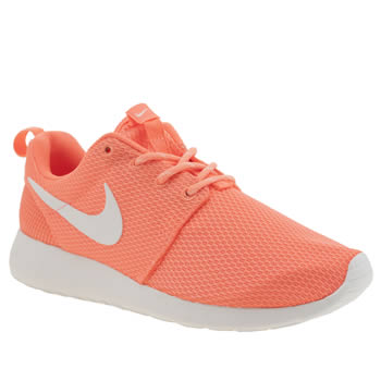 Nike Orange Roshe One Trainers