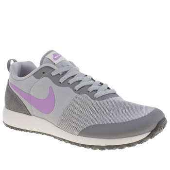 Womens Nike Light Grey Elite Shinsen Trainers