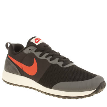 Nike Black & Grey Elite Shinsen Trainers
