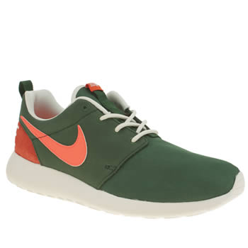 Nike Dark Green Roshe One Retro Trainers