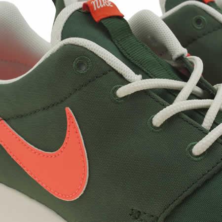 fqtzr Womens Khaki Nike Roshe One Retro Trainers   schuh