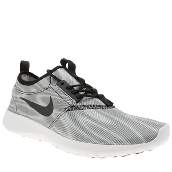 Nike Grey & Black Juvenate Print Trainers