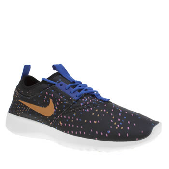 Nike Black & pink Juvenate Print Womens Trainers