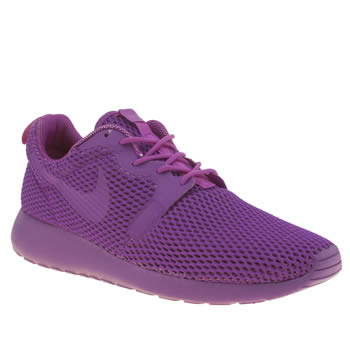 Womens Nike Purple Roshe One Hyperfuse Br Trainers