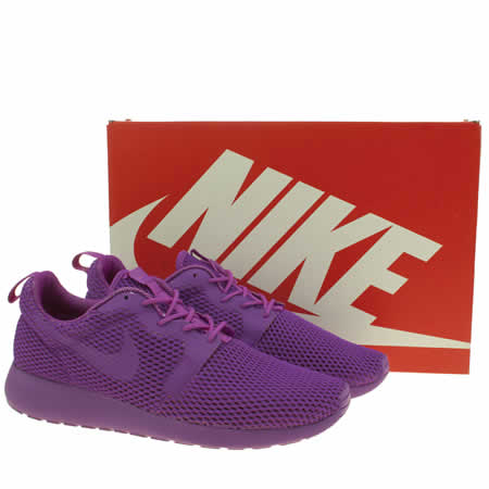 cffbc Womens Purple Nike Roshe One Hyperfuse Br Trainers | schuh