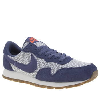 Nike White & Purple Pegasus 83 Trainers